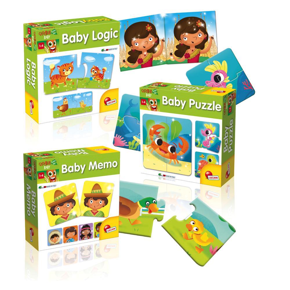 Carotte Baby- Logique puzzle 3 s francais