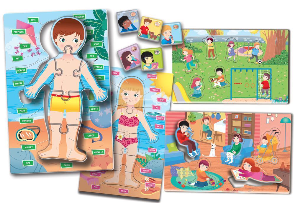 Carotina Preschool Le Corps Humain Pour Les Plus Petits Version Française