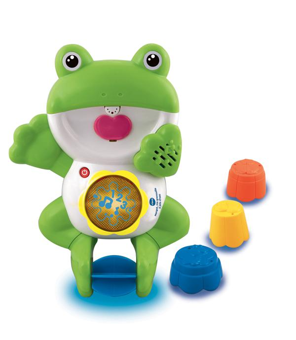 Margot ma grenouille à jets d'eau