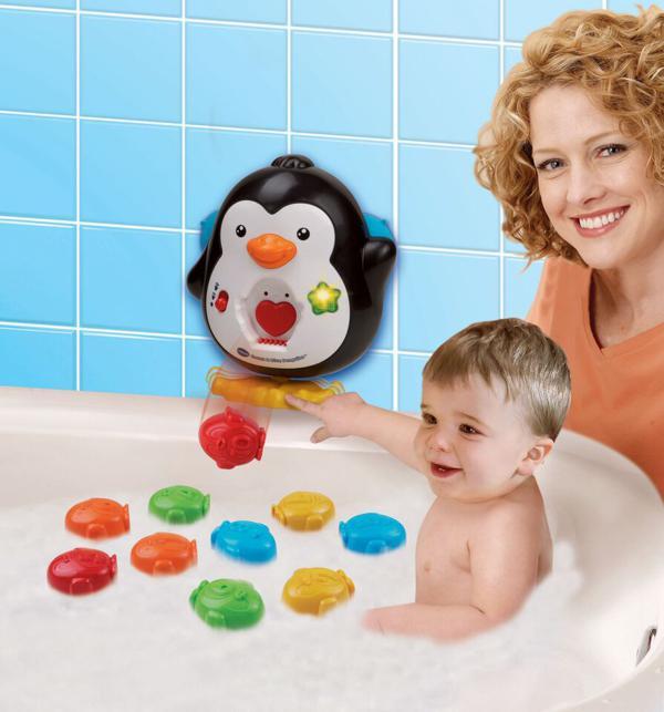 1,2,3 Plouf dans le bain!