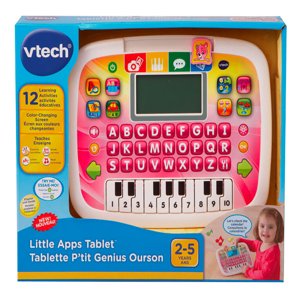 Tablette P'tit Genius Ourson assortis Version française