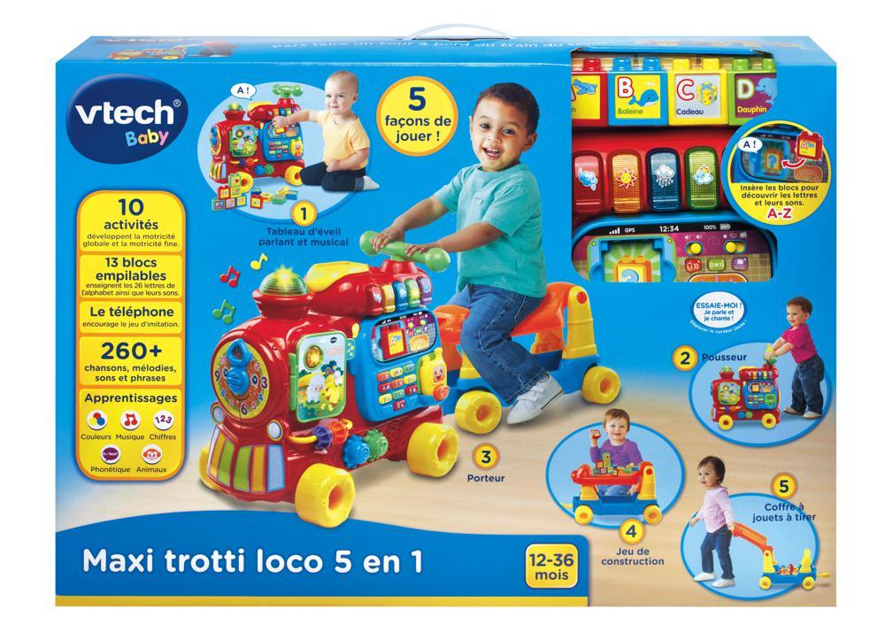 Maxi trotti loco 5 en 1 Version française