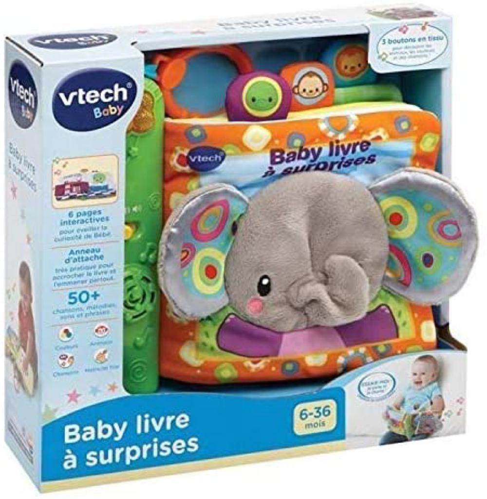 Baby livre à surprises Version française