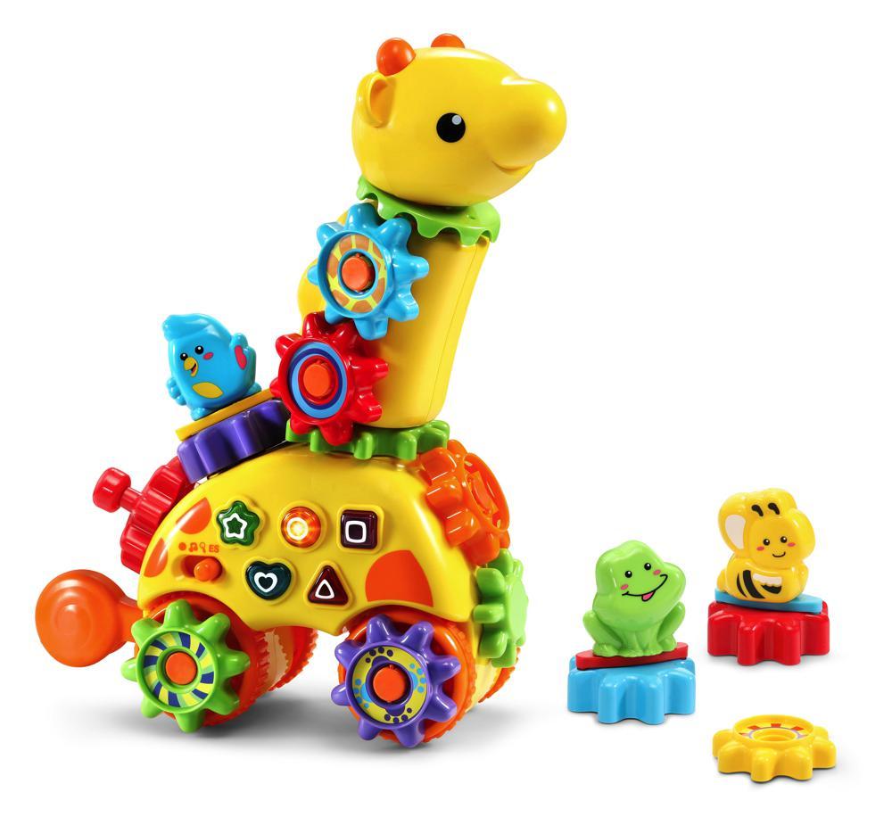 VTech Ma Girafe à Engrenage Magique 199105 Zooz