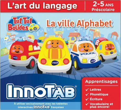 Innotab TutTut villa alphabet français