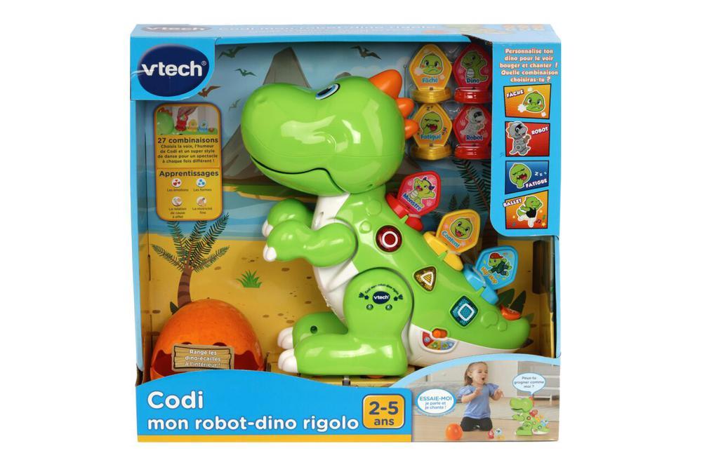 Codi, mon robot-dino rigolo Version française
