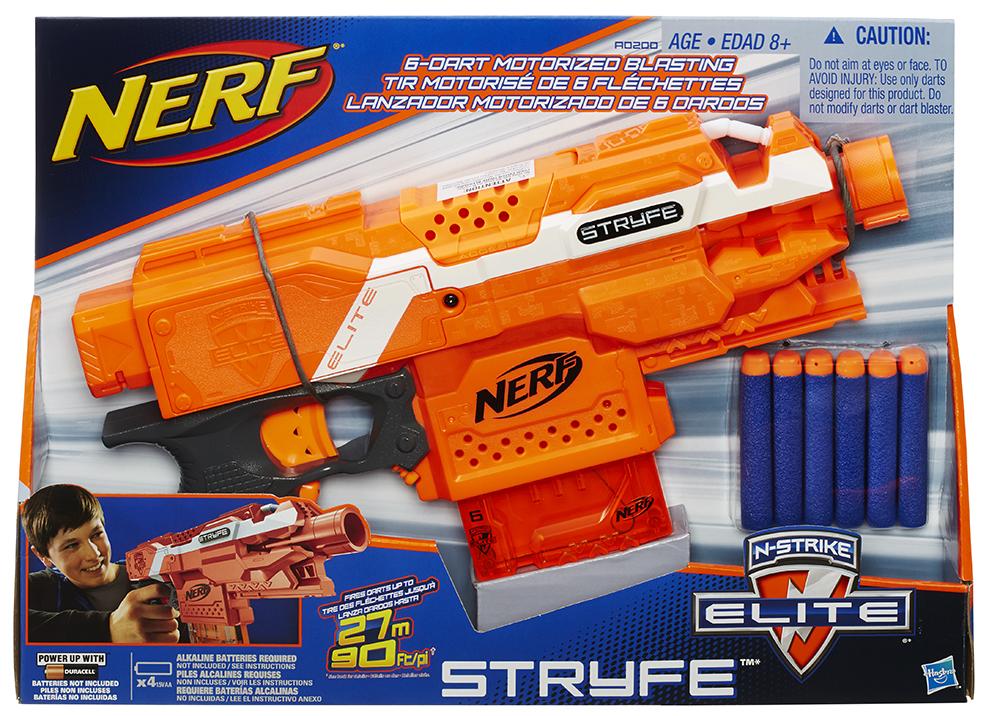 Nerf - N-Stryke Elite Stryfe semi-automatique motorisé