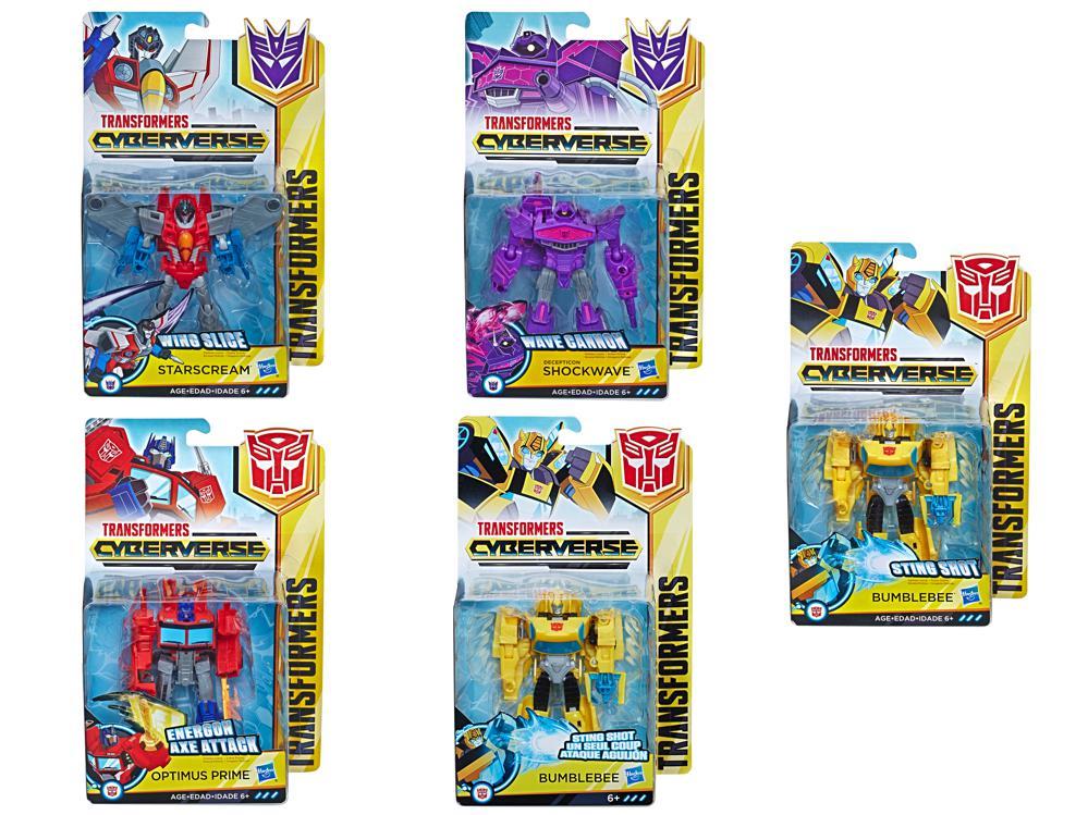 Transformers - Cyberverse Classe guerrier assortis