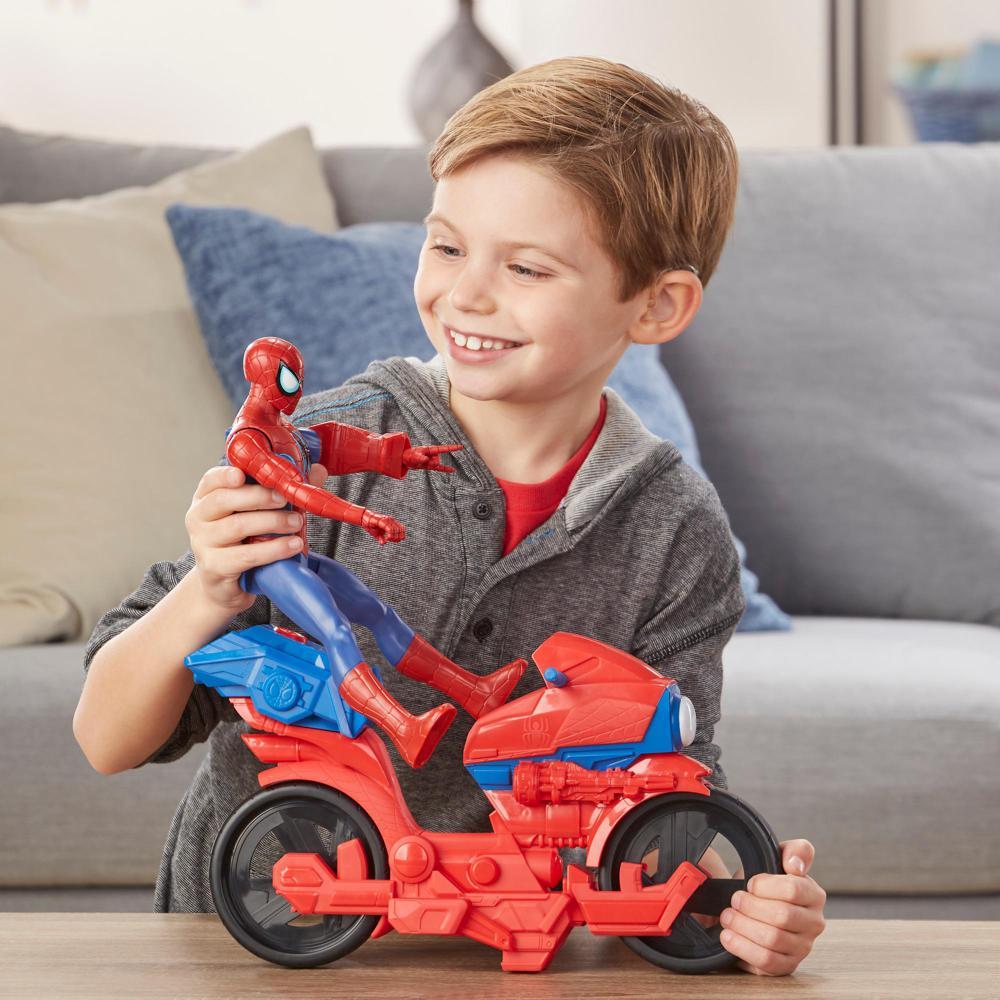 Spider-Man titan power pack cycle version française