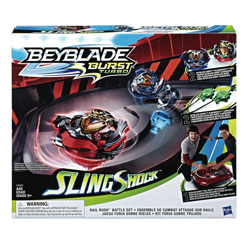 Beyblade Burst Turbo - Ensemble de combat Attaque sur rails