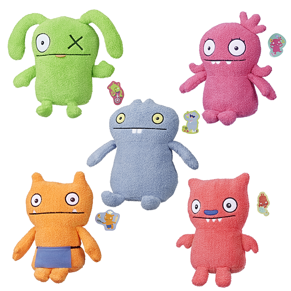 Ugly Dolls - Peluche moyenne assorties