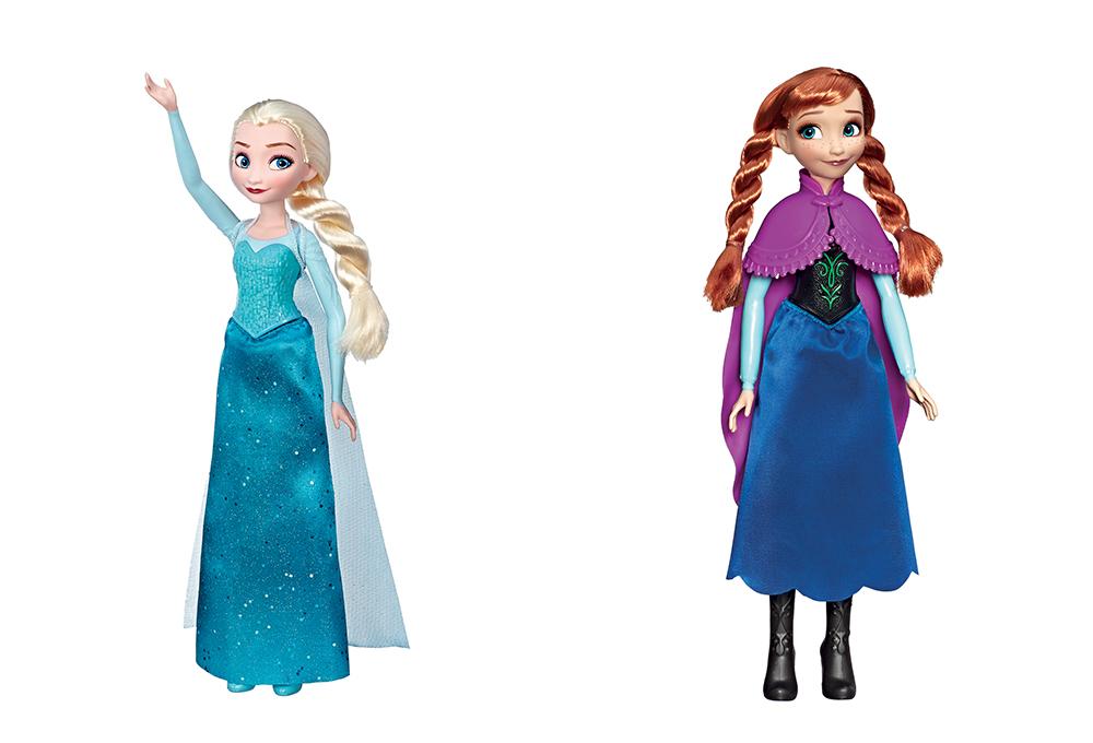 La Reine des neiges  - Poupée assorties