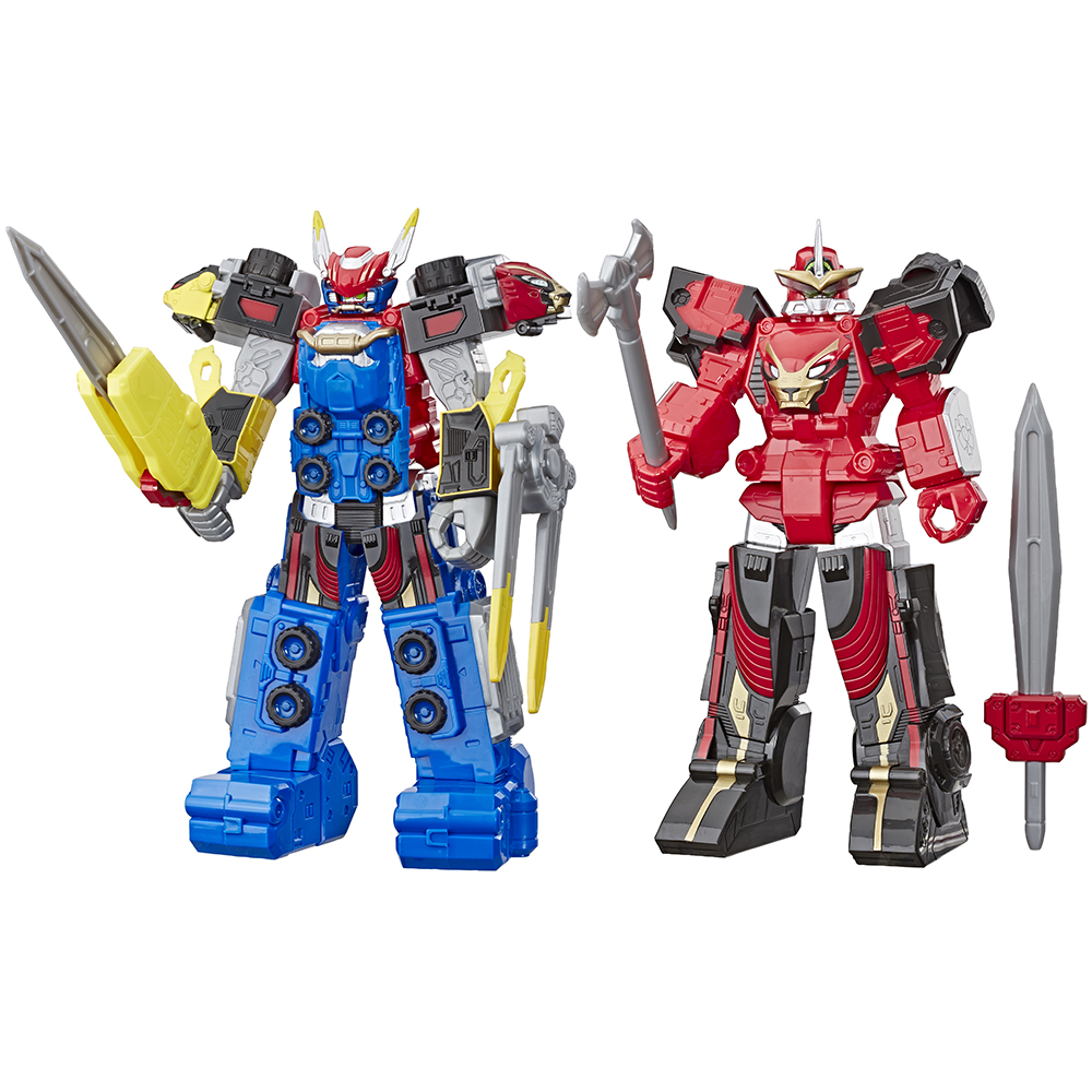 Power Rangers megazord action figure assortis