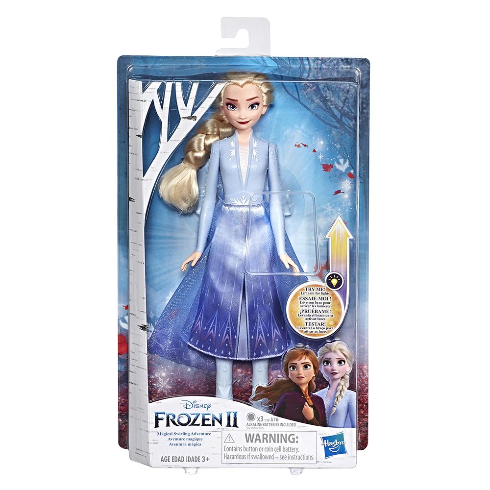 La Reine des neiges 2 - Poupée Light-Up Elsa, Aventure magique