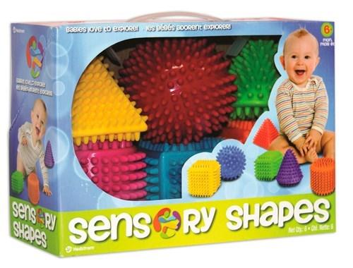 Sensory Formes sensorielles de base 6 pièces
