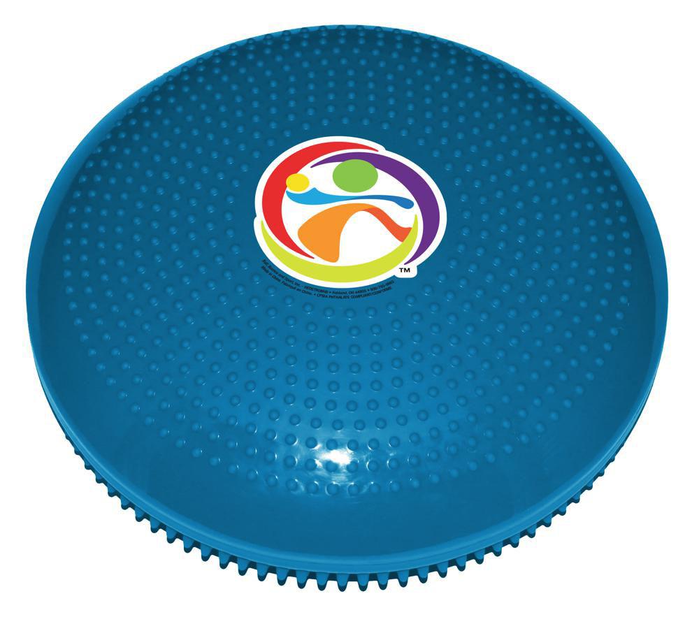 Sensory - Ballon plat Squirmeez bleu