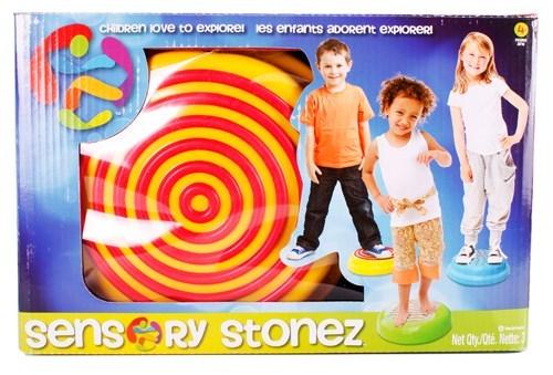 Sensory 3 Demi-ballons Stonez