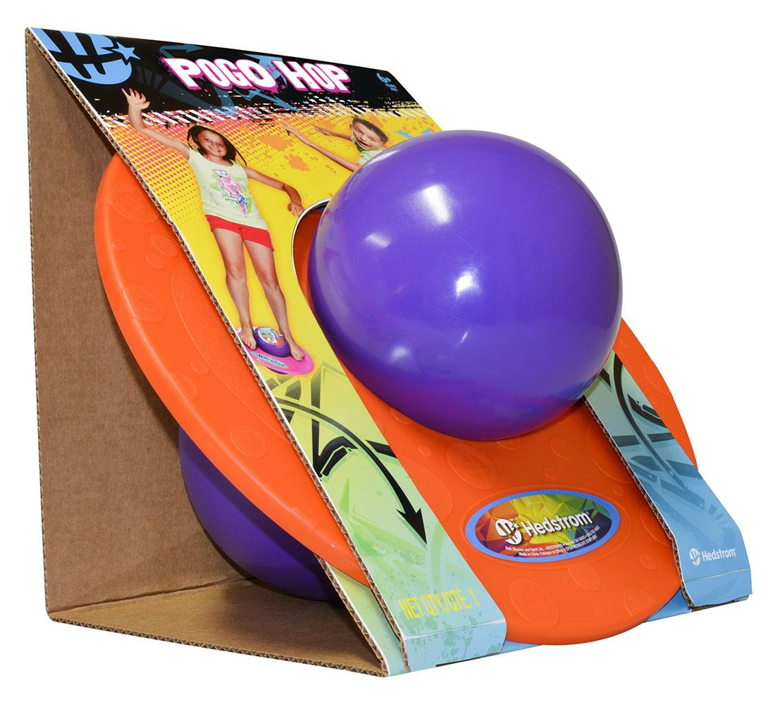 Pogo ball 2 couleurs assorties