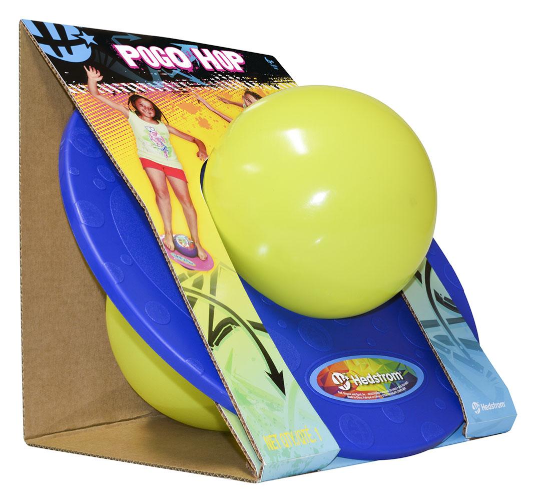 Pogo Hop Ball 2 couleurs assorties