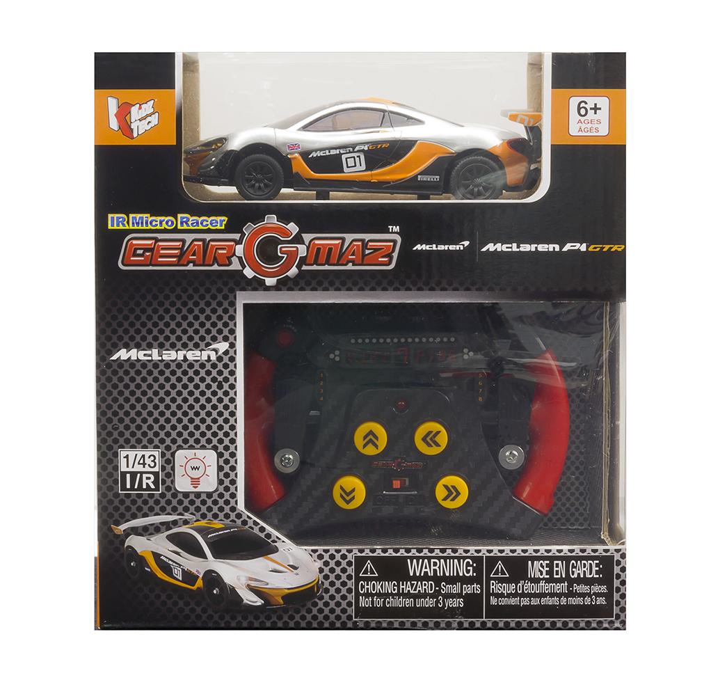 Mini voiture téléguidée 1:43 assorties