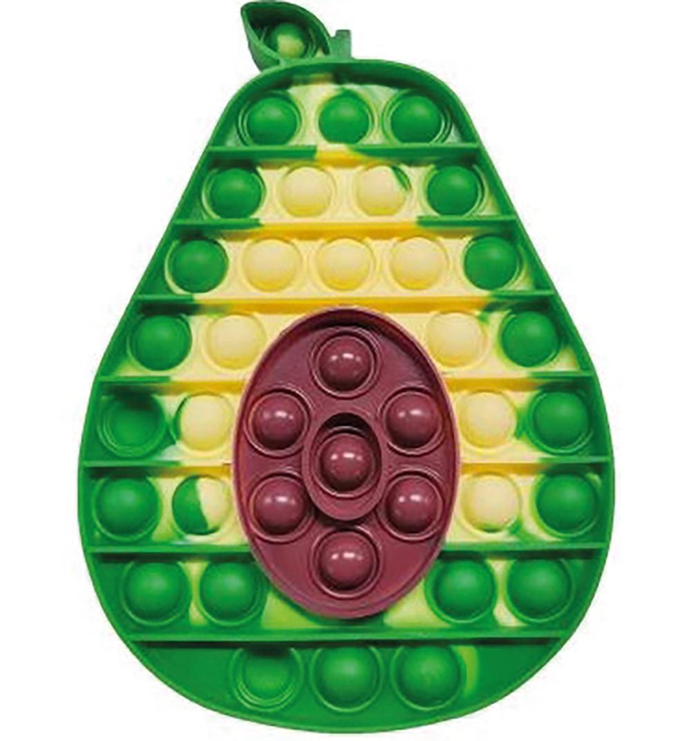 PushNpop Jouet sensoriel en silicone - Avocat