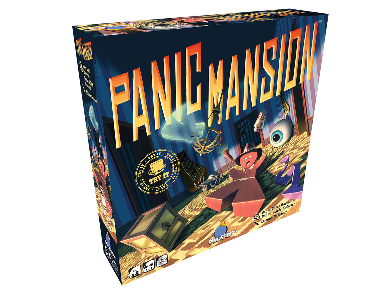 Jeu Panic Mansion