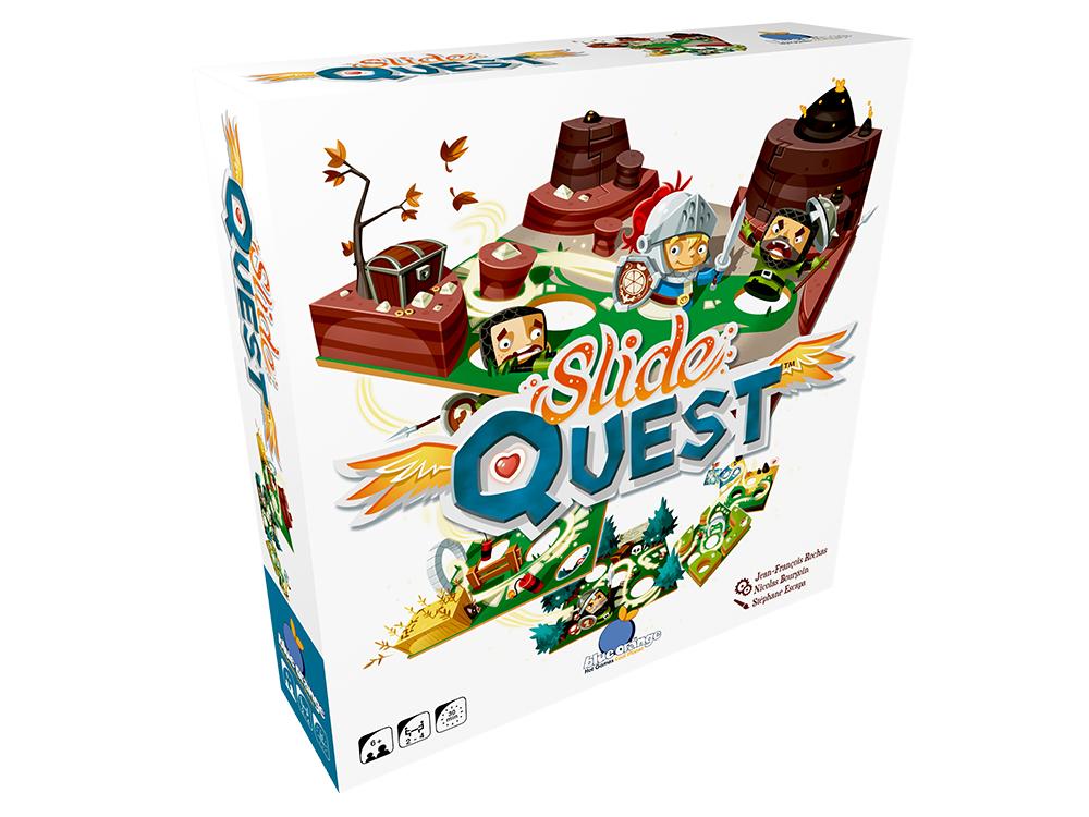Jeu Slide Quest Version bilingue