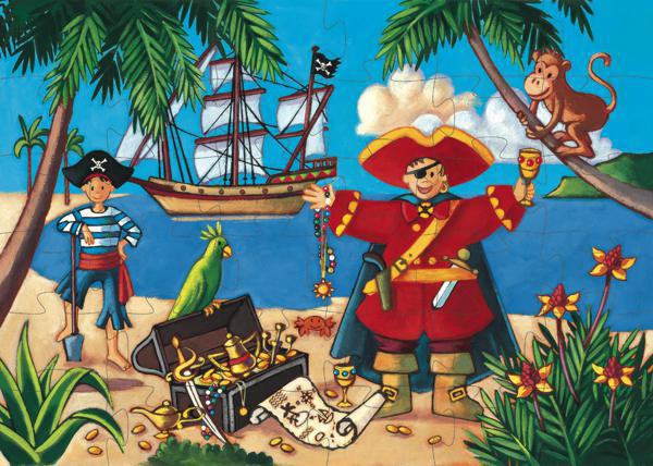 Casse-tête Les Pirates 36 pièces