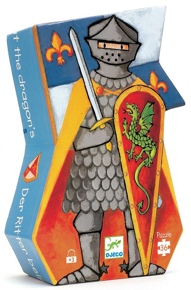 Casse-tête 36 pièces - Le chevalier et le dragon