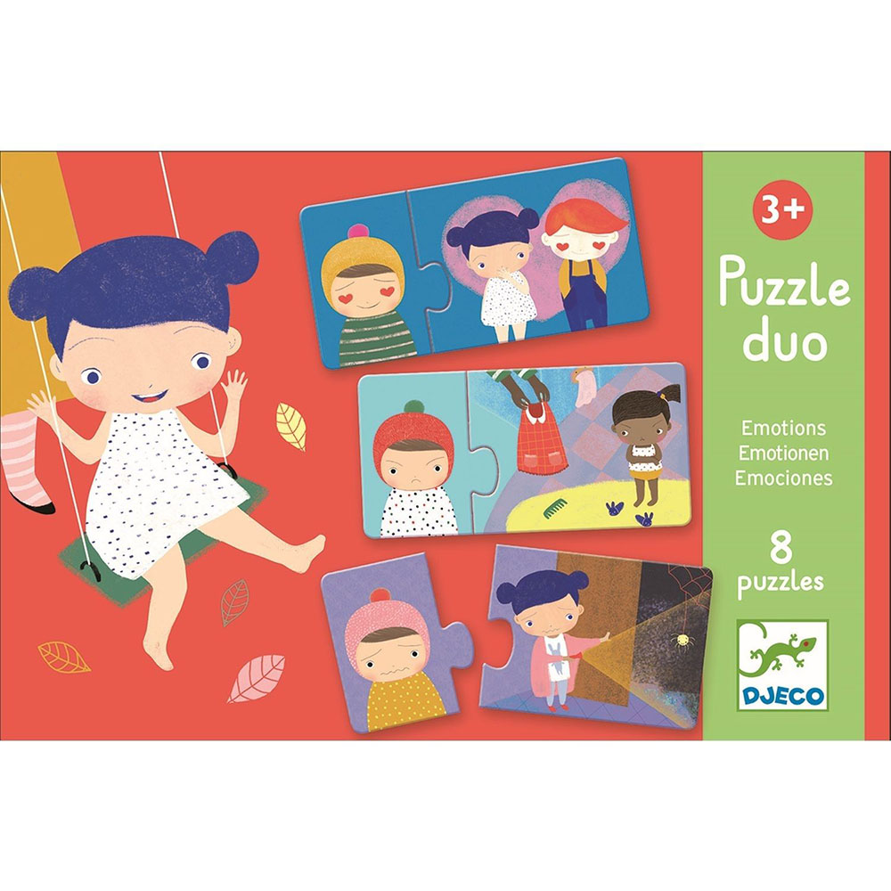 Puzzle Duo - Emotions