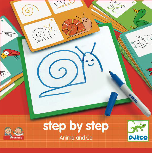 Eduludo - Step by Step Animaux