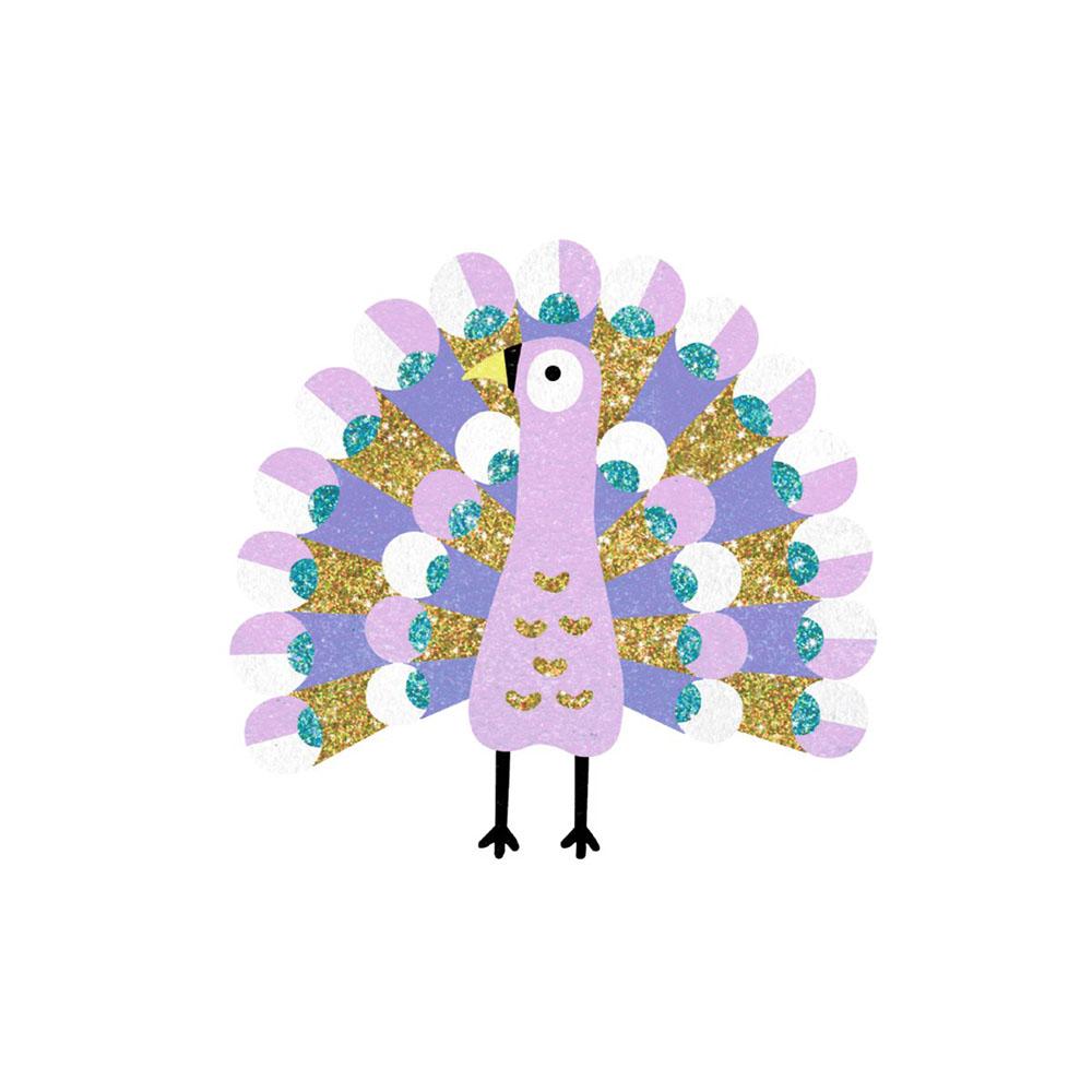 Sables colorés - Éblouissants oiseaux