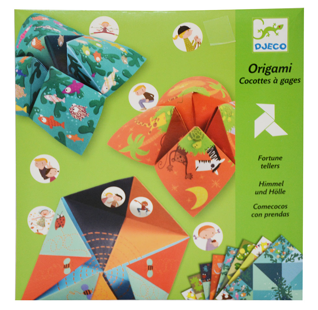 Origami - Cocottes à gages - Animaux
