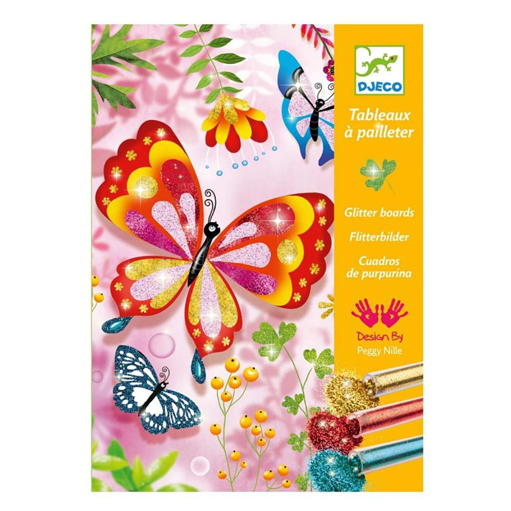 Tableaux à pailleter - Papillons
