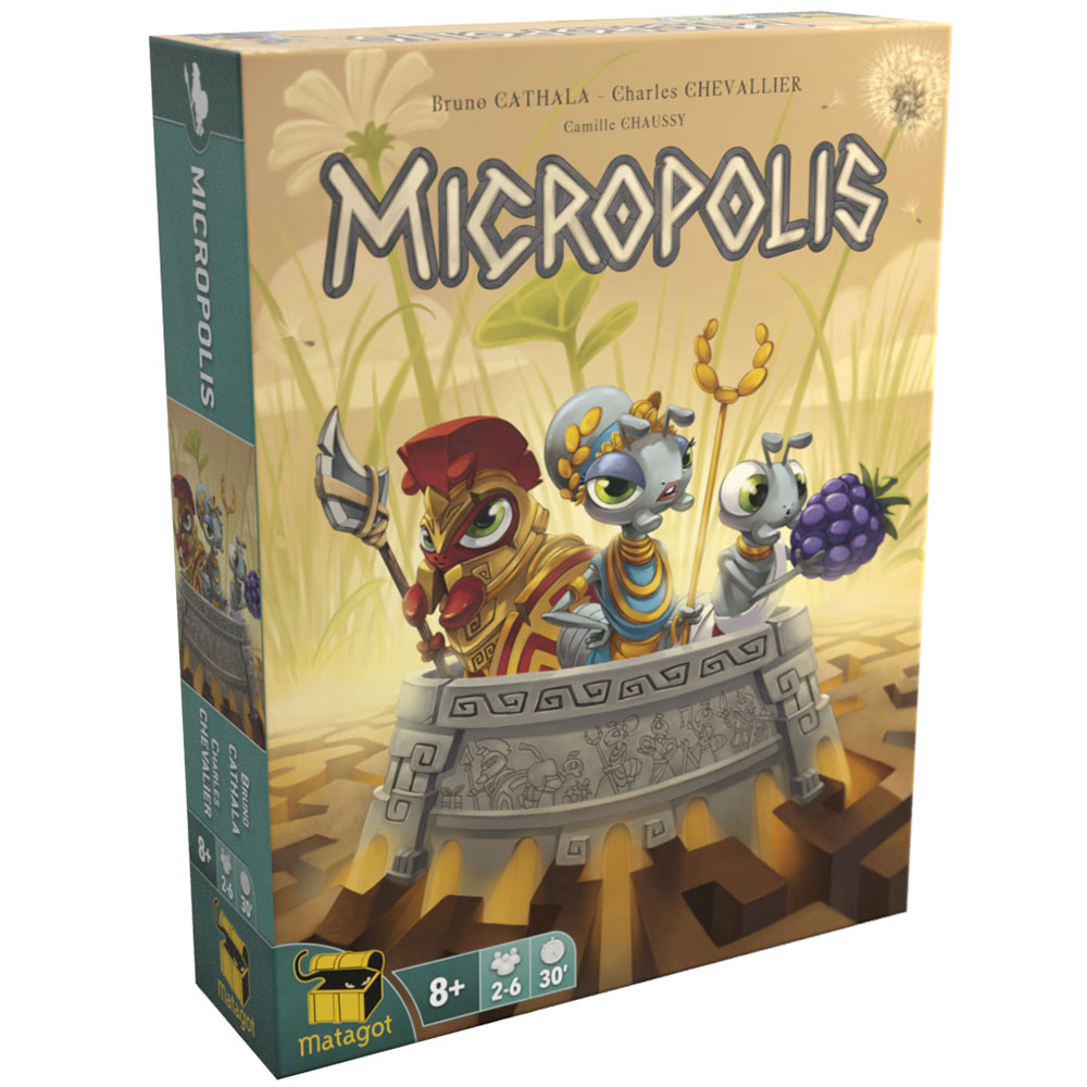 Jeu Micropolis