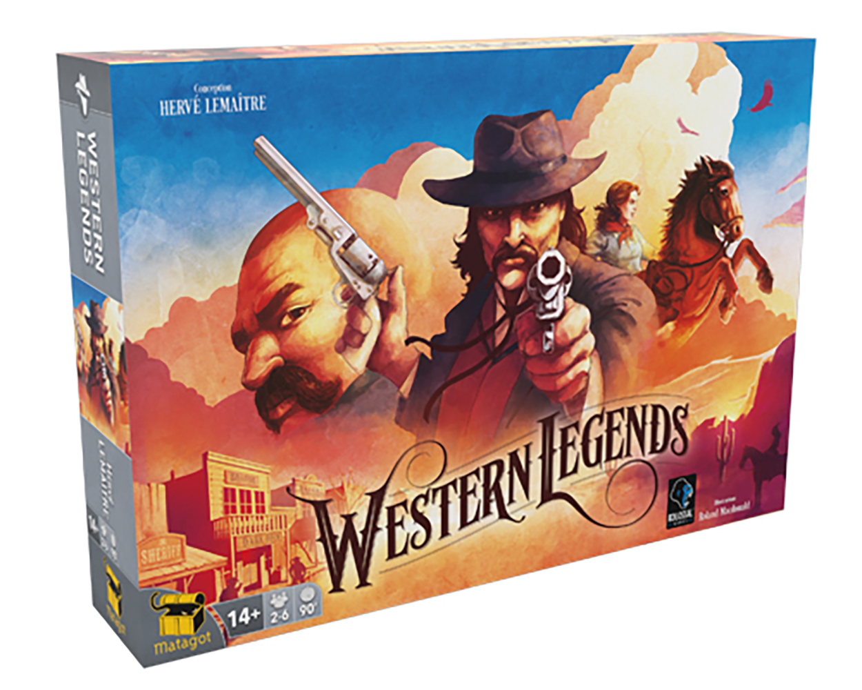 Jeu Western Legends