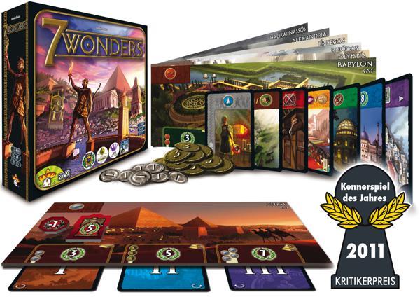 Jeu 7 Wonders Version française