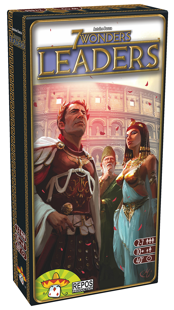 Jeu 7 Wonders Extention - Leaders