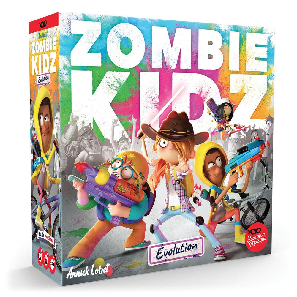Jeu Zombie Kidz - Évolution