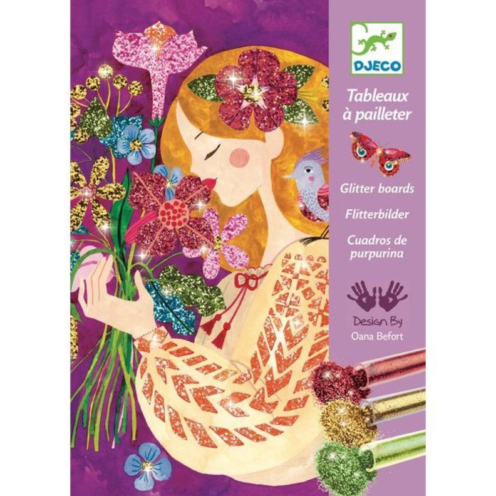 Tableaux à pailleter - Le parfum des fleurs