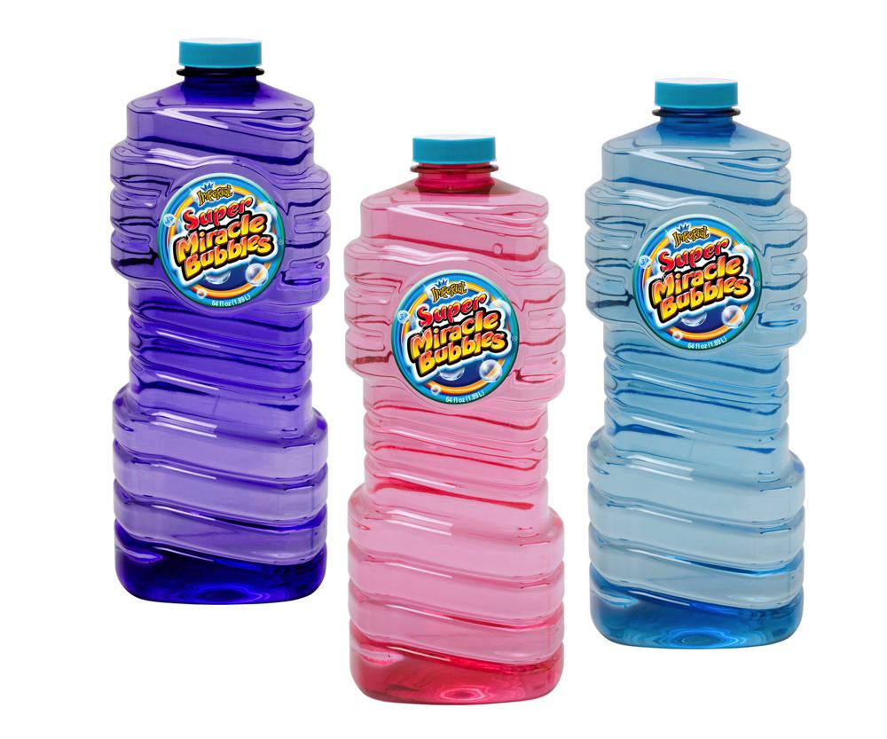 Liquide à bulles 64 oz 3 couleurs assortis