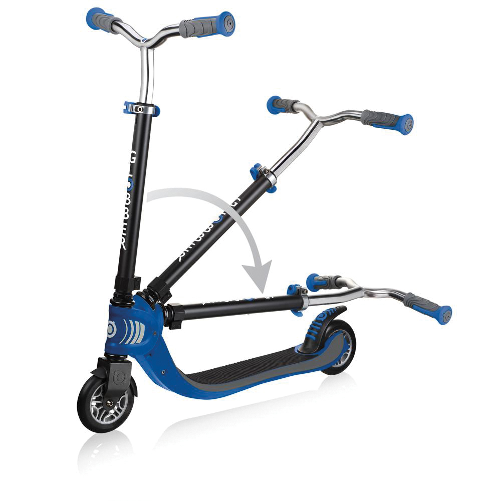 Trottinette Globber Flow Foldable 125 Bleu
