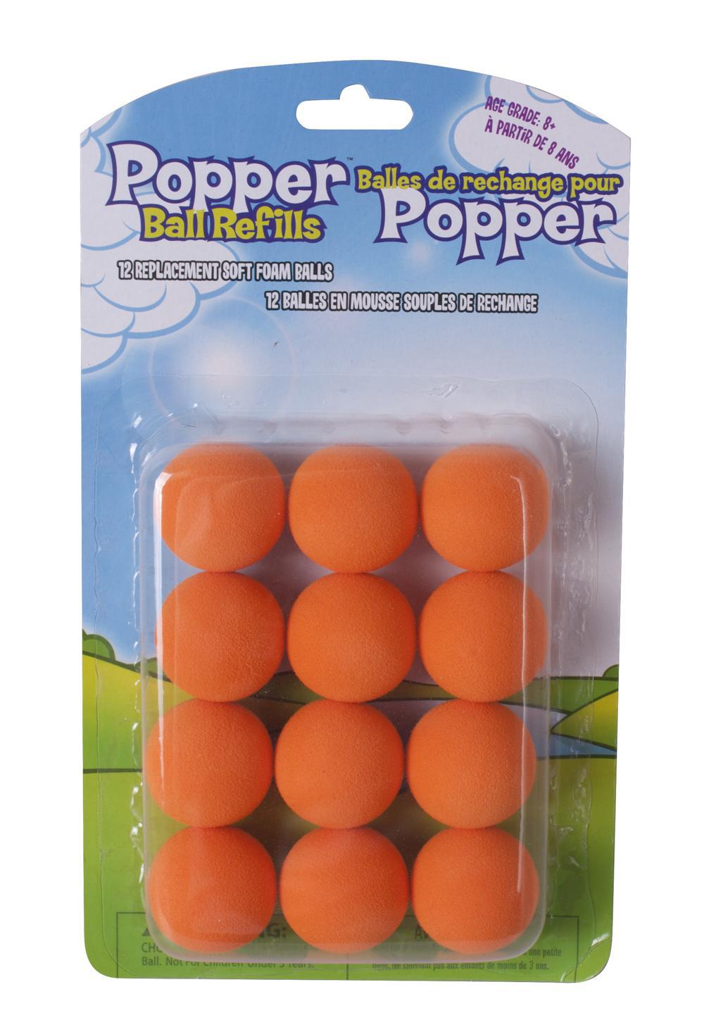 Power Popper 12 balles de recharge