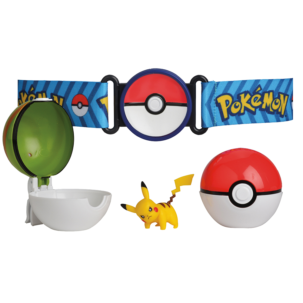 Pokémon - Ensemble ceinture Poké Ball