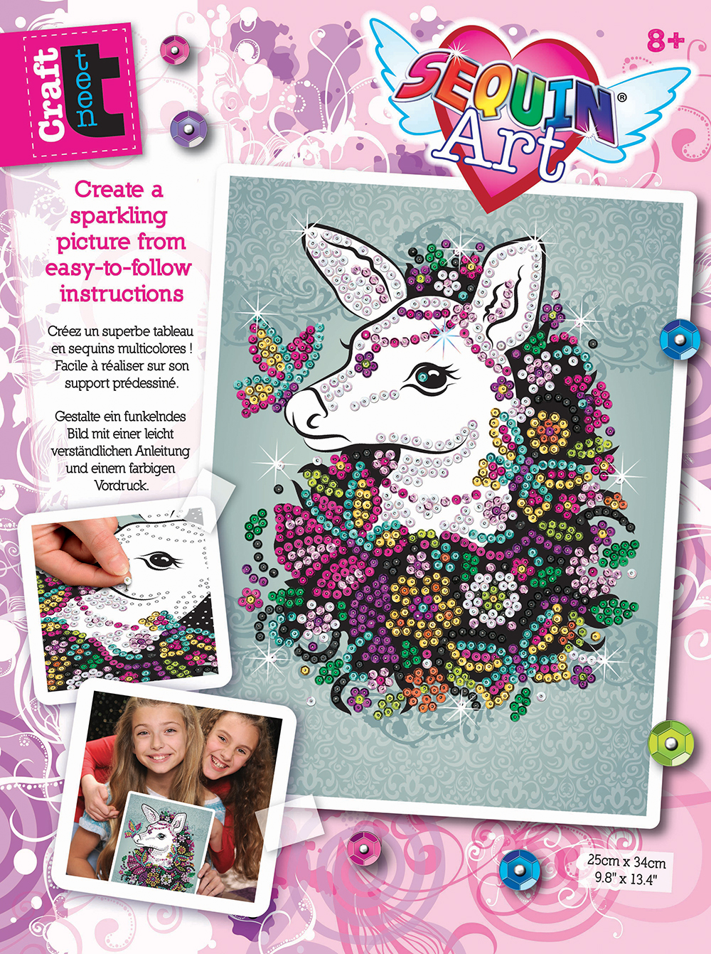 Sequin Art Craft Teen - Biche