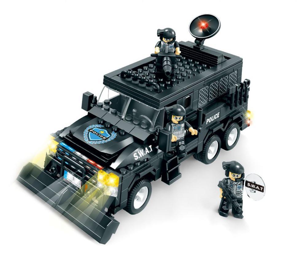 Brictek swat véhicule blindé 455 pièces