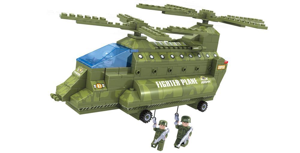Brictek - Hélicoptère militaire birotor 308 pièces
