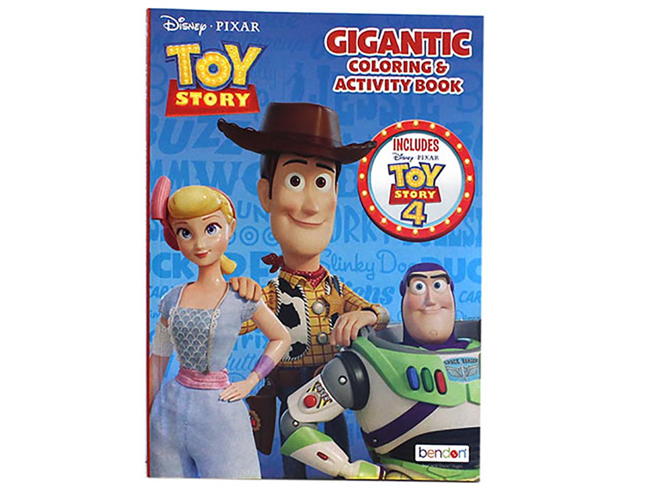 Livre Coloriage & Activité - Histoire de jouets