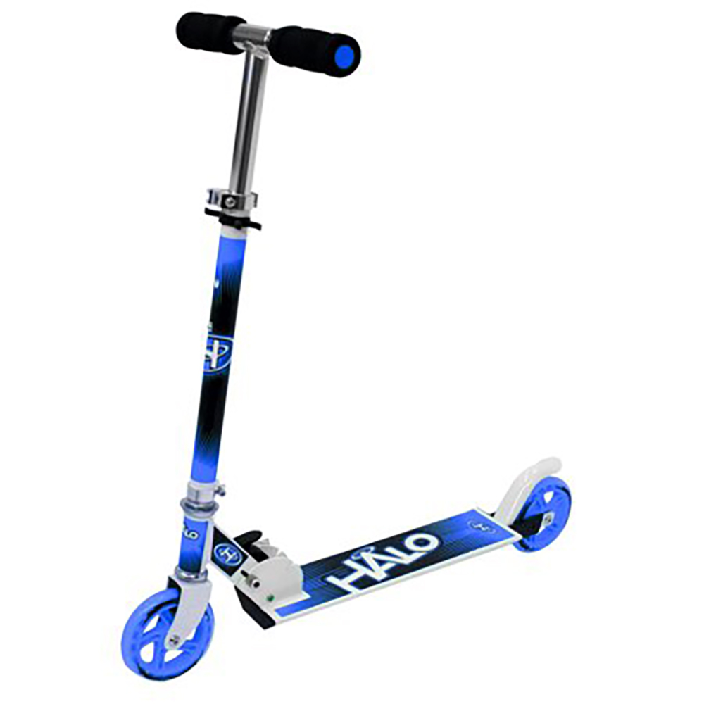 Halo - Trottinette de luxe bleue