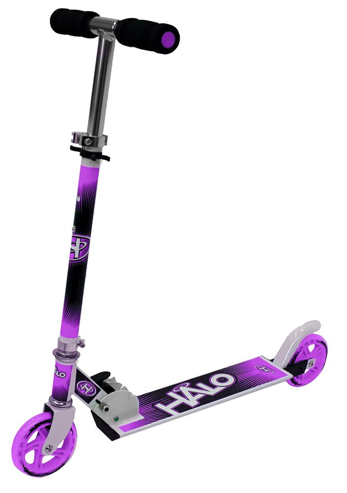 Halo - Trottinette de luxe mauve